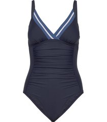 swimsuits badpak badkleding blauw esprit bodywear women