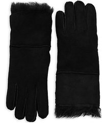 toscana fur-trim gloves