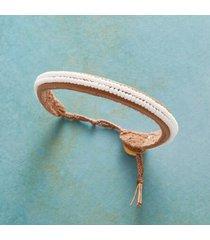 sundance catalog women's beachy keen bracelet in white
