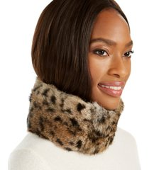 surell convertible rabbit fur headband collar