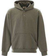fear of god henley hoodie