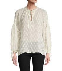 julius silk-blend blouse