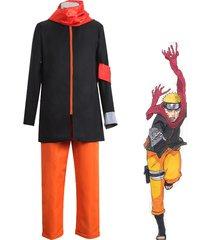 naruto the movie uzumaki naruto cosplay costume hoodie suit halloween costume