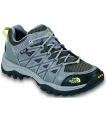 zapatilla storm iii impermeable gris the north face