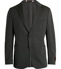 space-dyed wool blazer