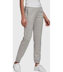 pantalón de buzo adidas originals track pants gris - calce regular