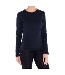 camiseta segunda pele térmica thermal stretch solo feminina