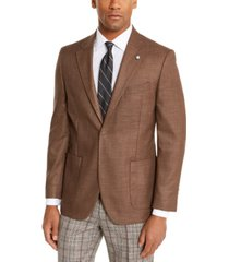 nautica men's modern-fit active stretch solid sport coat