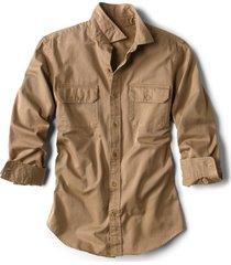 officer's twill long-sleeved shirt