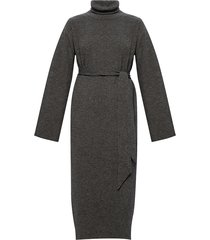 ribbed roll neck dress