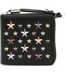 jimmy choo star stud tessa wallet