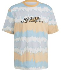 adventure archive printed hazy t-shirt