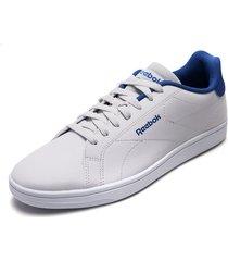 tenis lifestyle blanco-azul reebok royal complete cln