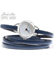 prezent - zegarek - dots granat+ pudełko