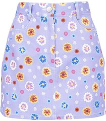 floral print claude skirt