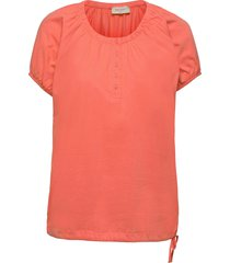 betina-ss-solid t-shirts & tops short-sleeved rosa free/quent