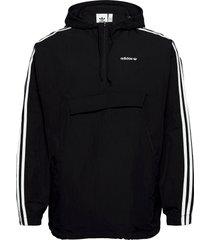 classics anorak outerwear jackets anoraks zwart adidas originals