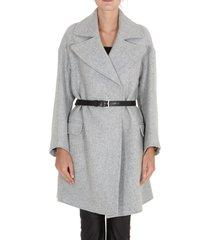 dondup belted coat