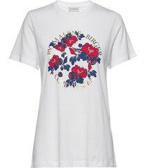azalea t-shirts & tops short-sleeved vit by malene birger