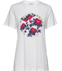azalea t-shirts & tops short-sleeved vit by malene birger