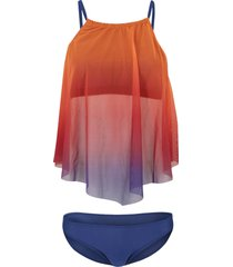 tankini (set 2 pezzi) (arancione) - bodyflirt