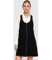 vestido jacqueline de yong corto negro - calce regular