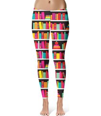 library book case sport leggings