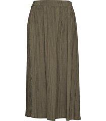 ella knälång kjol grön gai+lisva