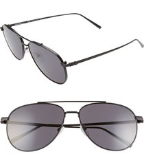 men's salvatore ferragamo capsule 60mm aviator sunglasses -