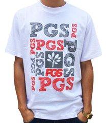 camiseta pgs masculina