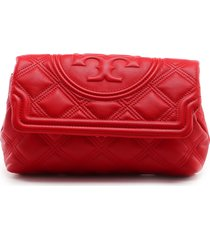 tory burch fleming soft clutch