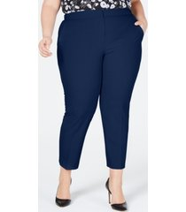 bar iii plus size ankle pants, created for macy's