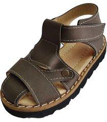 sandalia marrón babyskay