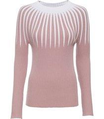 maglione con righe (rosa) - rainbow