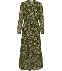dress maxi dress galajurk groen sofie schnoor