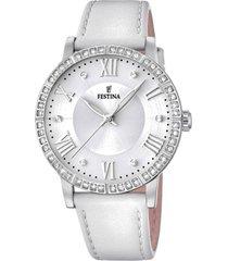 reloj boyfriend collection blanco festina