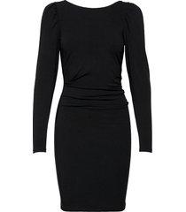 stretch sleeve dress dresses bodycon dresses svart designers, remix
