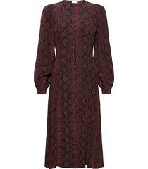 2nd marcia snake dresses everyday dresses brun 2ndday