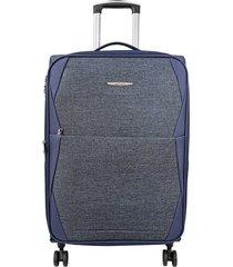 """maleta de viaje grande rayo 28"""" azul - explora"""
