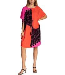 trina turk global printed caftan dress
