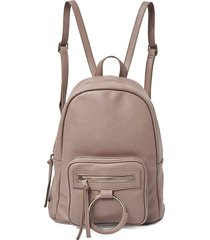 urban originals women's sublime faux leather backpack - grey
