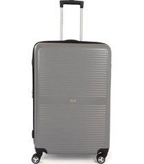 maleta de viaje grande rígida con cuatro ruedas giratorias 94114