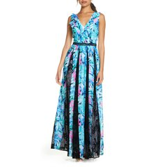 women's lilly pulitzer janette fit & flare maxi dress