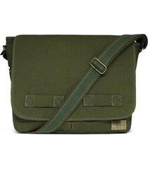 bolsa relicário carteiro de lona jack verde