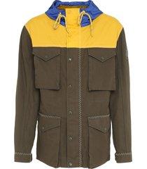 moncler genius leyton multi-pocket cotton jacket