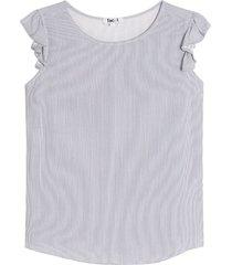 blusa mujer lineas m/c arandela