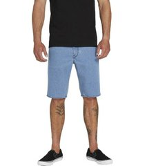 korte broek volcom solver denim short