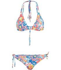 bikini a triangolo (set 2 pezzi) (bianco) - rainbow