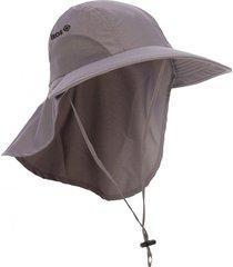 gorra con velo dallas gris izas outdoor