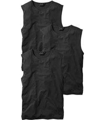 canotta in confezione da 3 (nero) - bpc bonprix collection